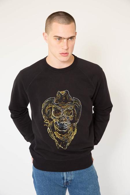 Our Legacy 50's Great Sweat - Neon Skull