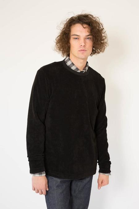 Our Legacy Long Sleeve T-Shirt - Black Terry