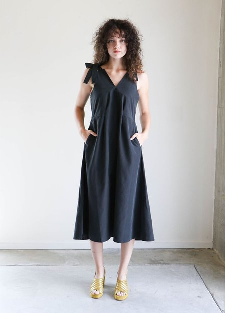 Shaina Mote Palo Dress in Onyx