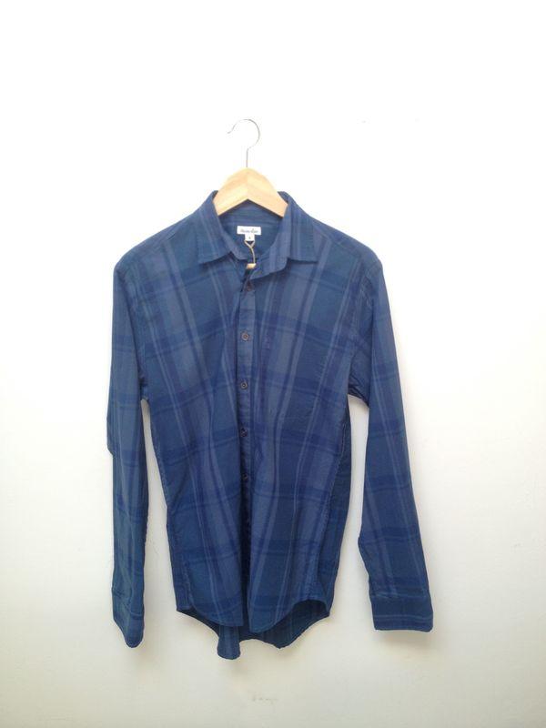 Men's Steven Alan Reverse Seam Shirt