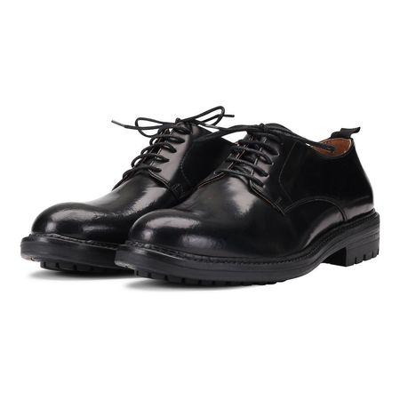 Garment Project Derby Shoe  - Black