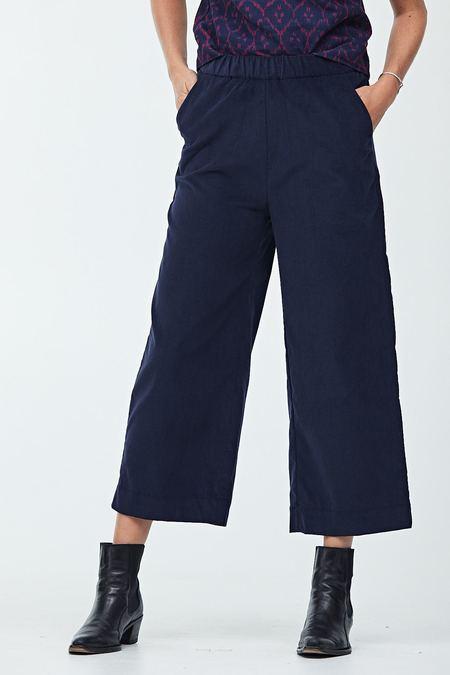 Semi Gloss Wide Leg Pull-On Pants