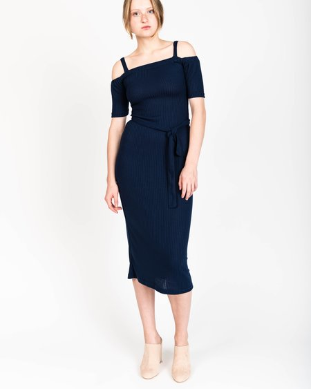 Samantha Pleet Capulet Dress In Midnight