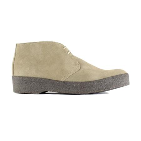 Sanders Hi Top Chukka Boot - Dirty Buck Suede