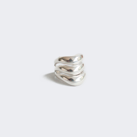 AGMES Triple Wave Ring