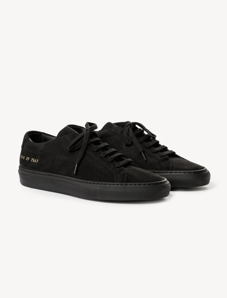 Woman by Common Projects Original Achilles - Nubuck Black