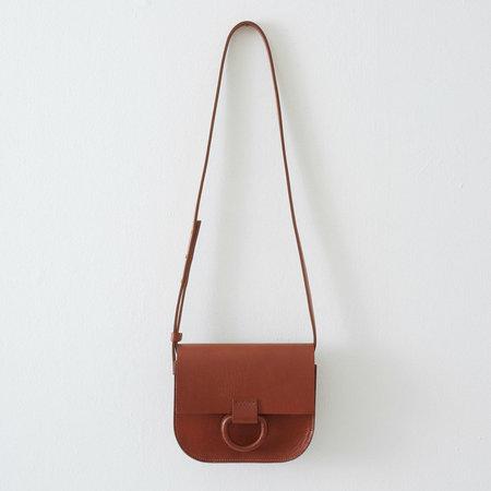 Crescioni Mini Logan Bag - Saddle brown