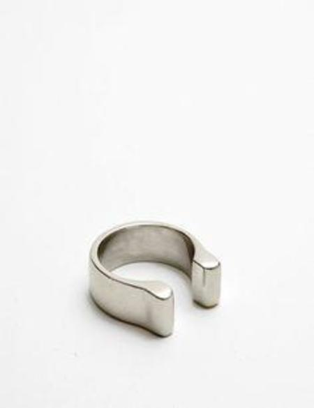 Quarry Mood Vertical Ring - Silver