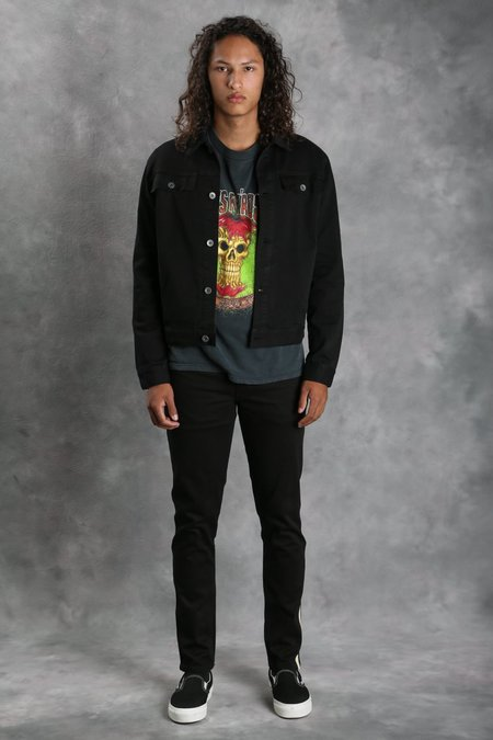 Robert Geller Black Denim Jacket