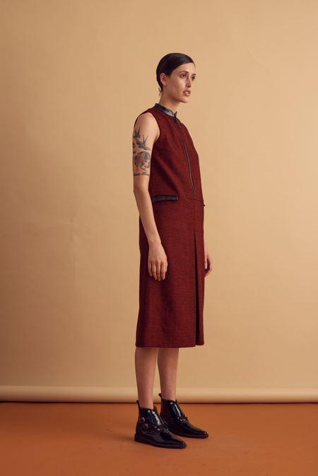 I Waited For You... Plaid Pocket Dress