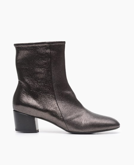 Coclico Cally Boot in Black Leather w/ Black Heel