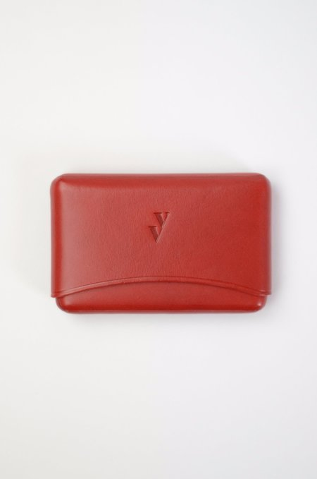 VereVerto Brev Card Holder - Cherry