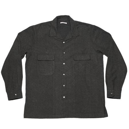 s.k. manor hill Earl Shirt - Gray Cotton