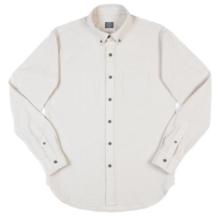 Wilson & Willy's Carver Shirt - Smoke White Oxford