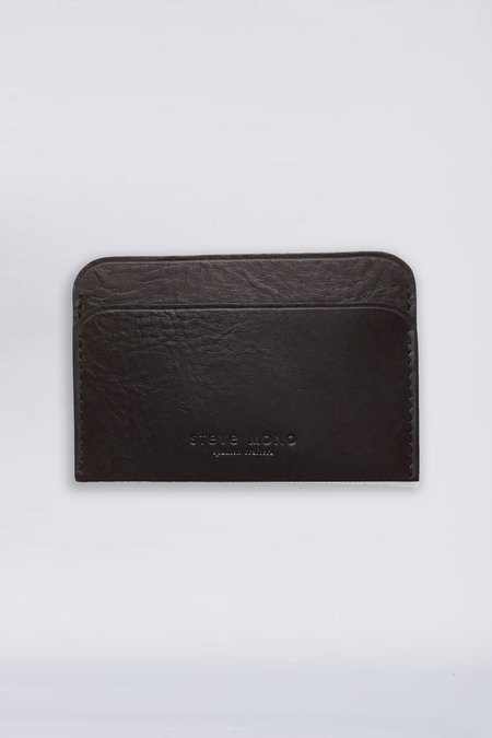 Steve Mono Leather Card Holder