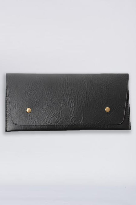 Steve Mono Leather Travel Wallet