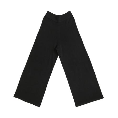 Ali Golden Sweater Pant - Black