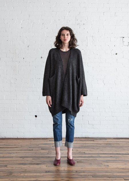 Lauren Manoogian New Wide Cardigan - Dark Charcoal