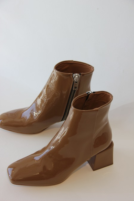 LOQ Lazaro Boot- Patent Cream