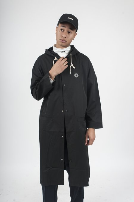 Drôle de Monsieur NFPM Long Raincoat - Black