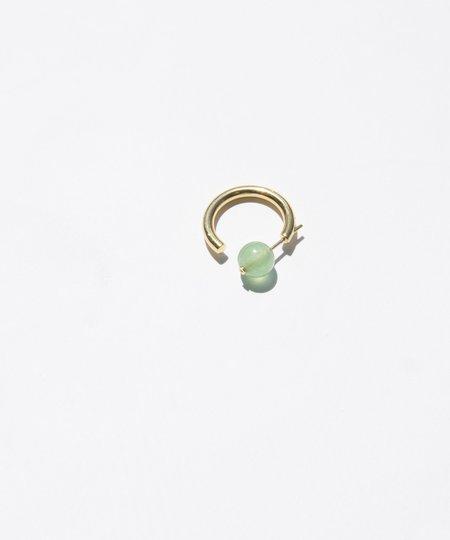 Maria Black Green Quartz Elly Earring