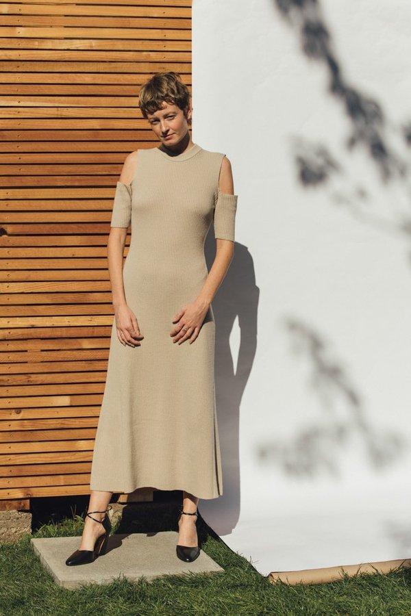 Shaina Mote Freja Dress - Dun