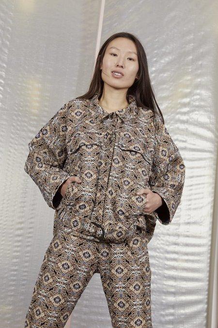 Miss Crabb Reverb Jacket Kilim Jacquard