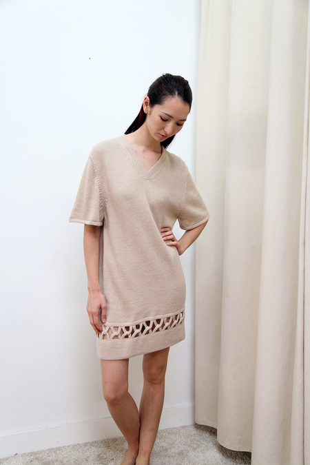 Kordal Interlock Dress - Sand