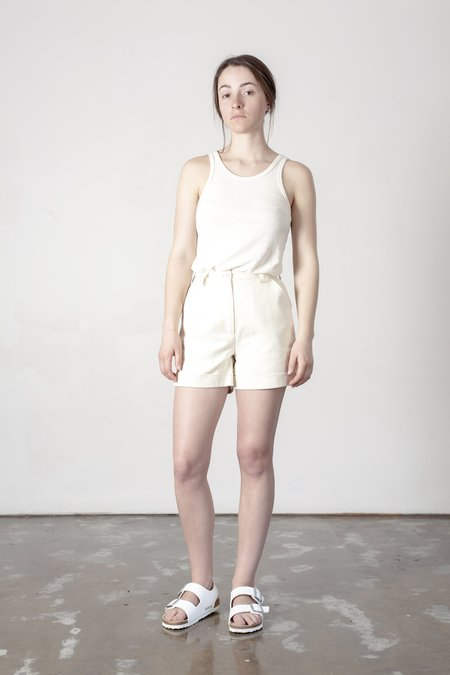 Good Studios Hemp Twill High Waist Shorts