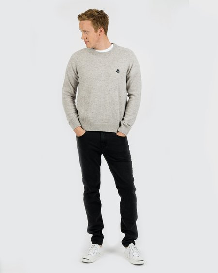 Men's Velour by Nostalgi Ruth Sweater Grey