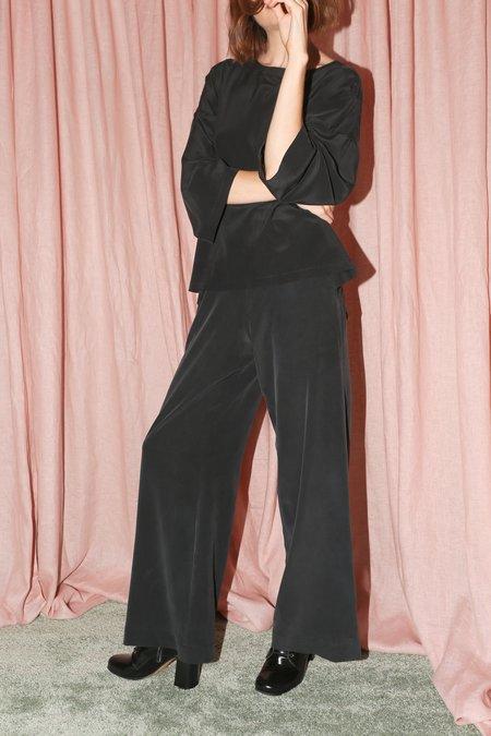 ARE Studio Weston Tie Pants in Onyx