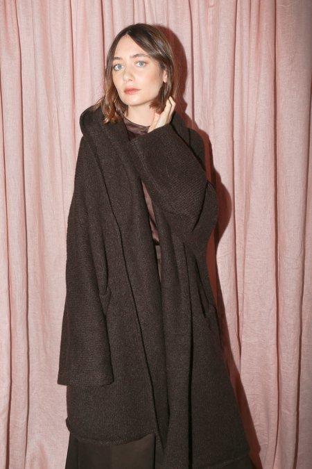 Lauren Manoogian Capote Coat in Chocolate