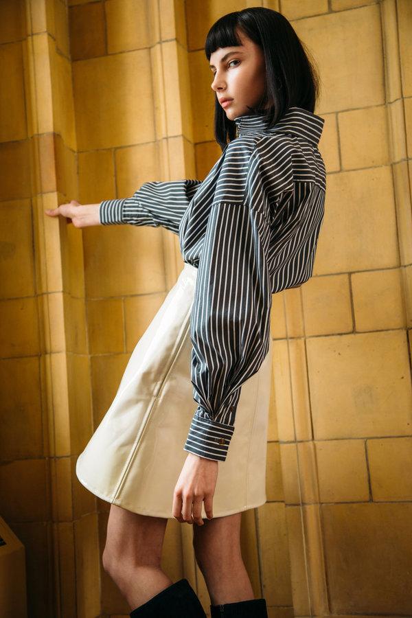"URBANOVITCH Patent Leather ""Anja"" Skirt"