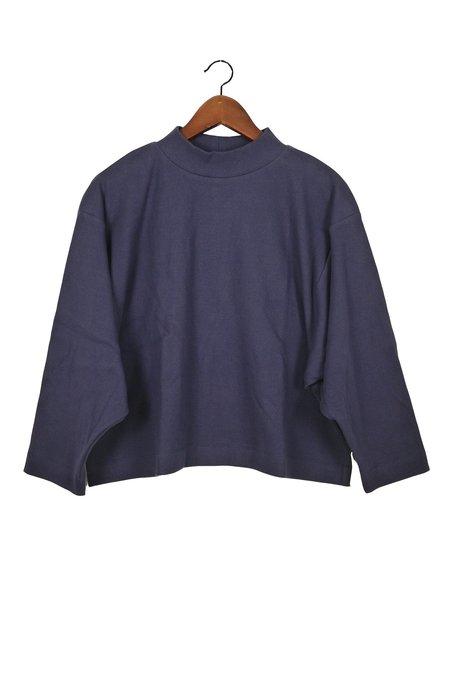 Ilana Kohn Phoebe Shirt - Marine Rib Jersey