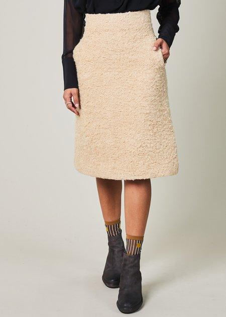 Odeeh Alpaca A-Line Skirt