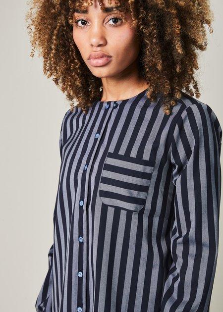 YMC Asawa Striped Shirt