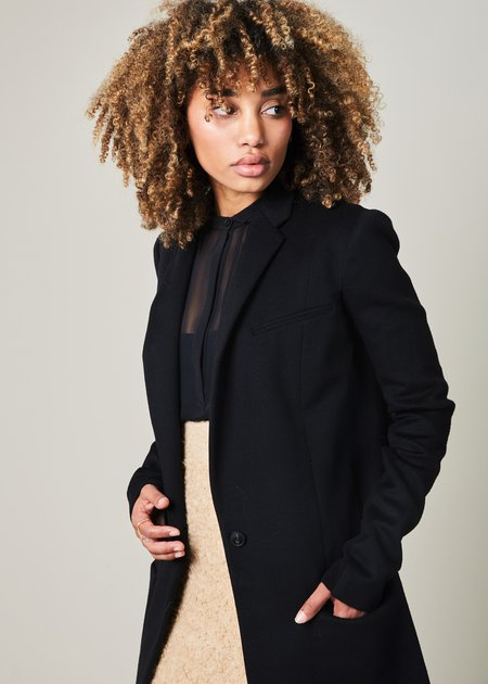 Nells Nelson Wool and Cashmere Long Jacket