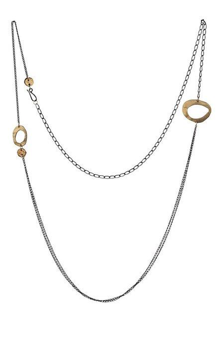"Chikahisa Studio Skipping Stones 36"" Necklace"