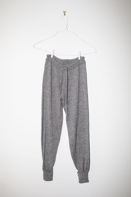 Unisex Giu Giu Brick Stitch Jogger Pant in Moon