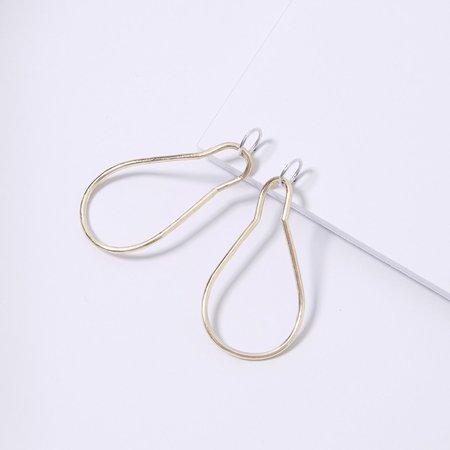 Metalepsis Projects Loop Earrings