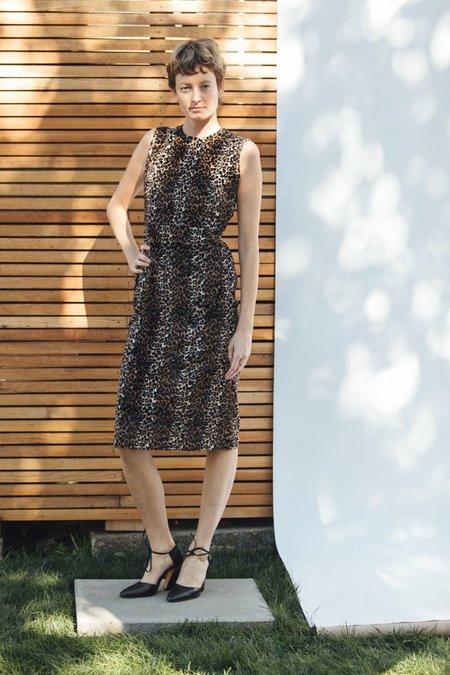 Rachel Comey Sling Dress - Cheetah
