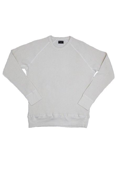 Homespun Knitwear Fisherman's Thermal - Antler White