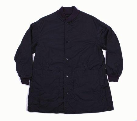 Engineered Garments Liner Jacket/Melton - Dark Navy PC Poplin
