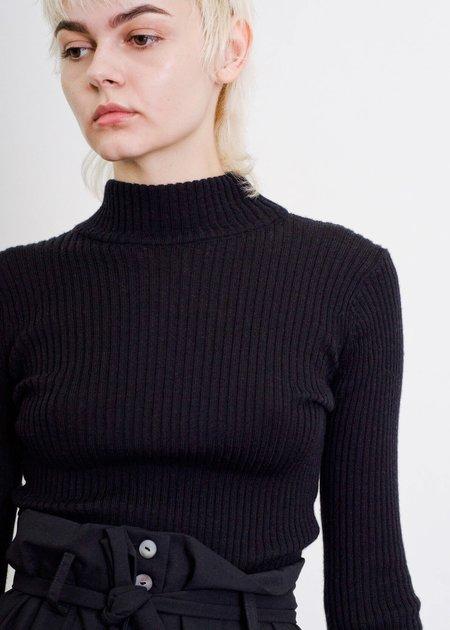 Penny Sage Toledo Knit Skivvy - Black