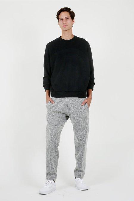 Devaux Black Dolman Sleeve Sweatshirt