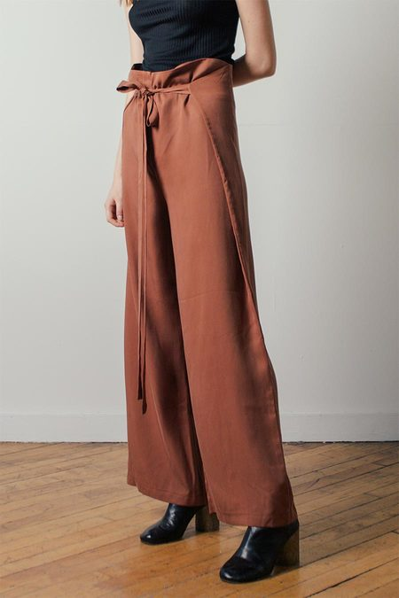 Shaina Mote Tepic Pant in Clay