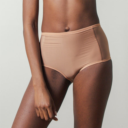 Land of Women Super Soft Highwaisted Brief in Nude