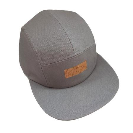 Basus CAP CANVAS LIGHT GREY