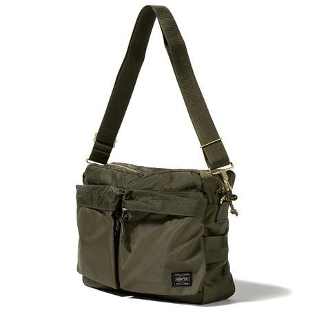 Porter Force Shoulder Bag - Olive