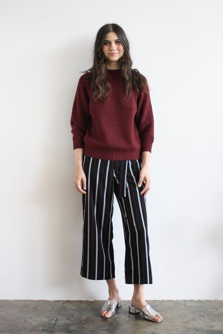 Diarte Byron sweater - burgundy